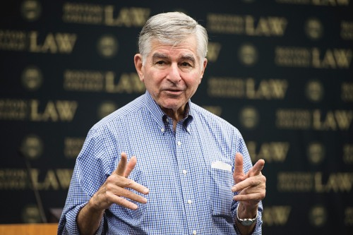 Governer Michael Dukakis